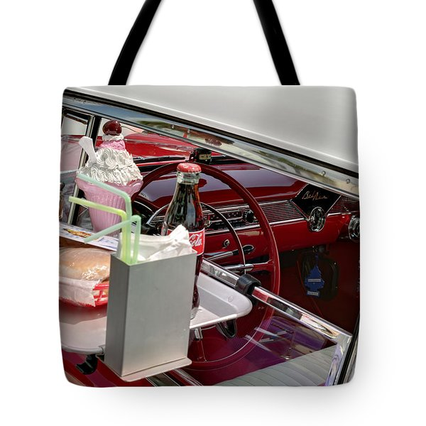 Bel Air 1956. Miami Tote Bag
