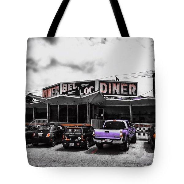 Bel-loc Diner Tote Bag