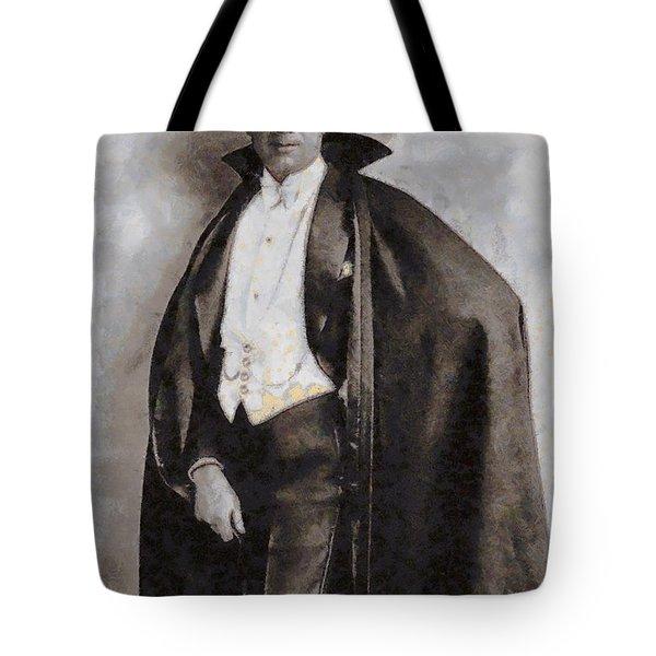 Bela Lugosi Hollywood Actor Tote Bag