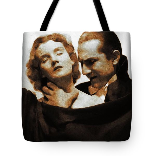 Bela Lugosi, Hollywood Legend Tote Bag