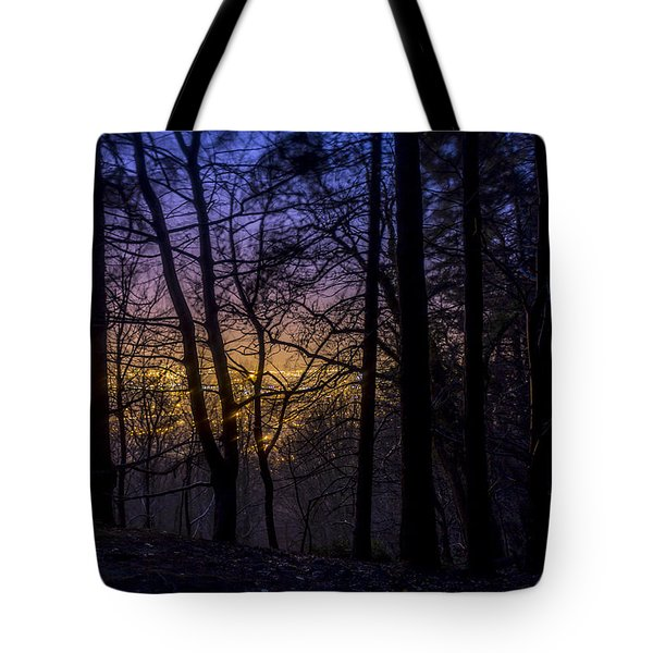 Belfast Through The Trees Part 1 Tote Bag
