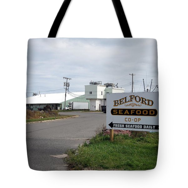 Belford Seafoood Nj Tote Bag