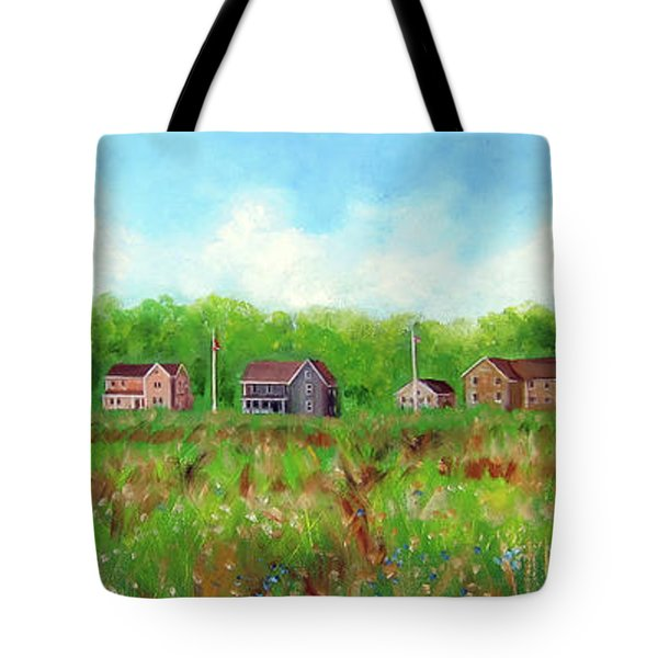 Belford's Nj Skyline Tote Bag