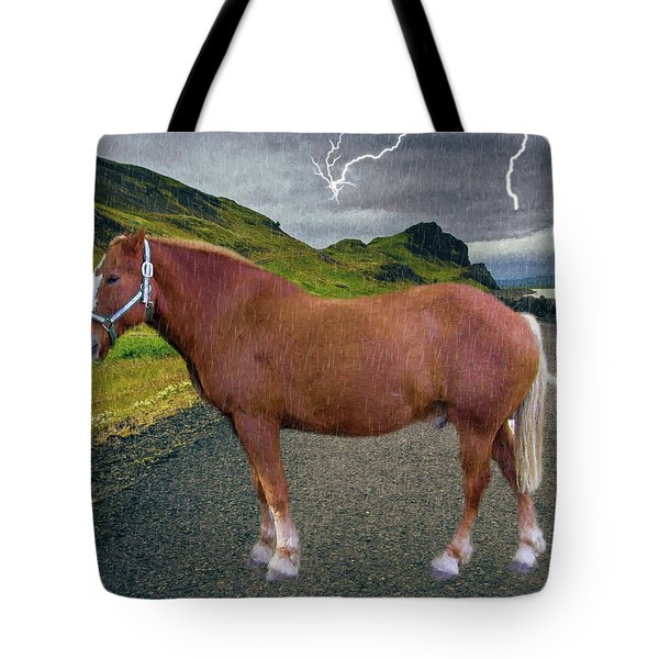 Tote Bag featuring the photograph Belgian Horse by Ericamaxine Price