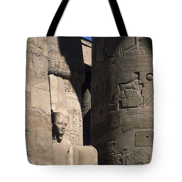Belief In The Hereafter - Luxor Karnak Temple Tote Bag