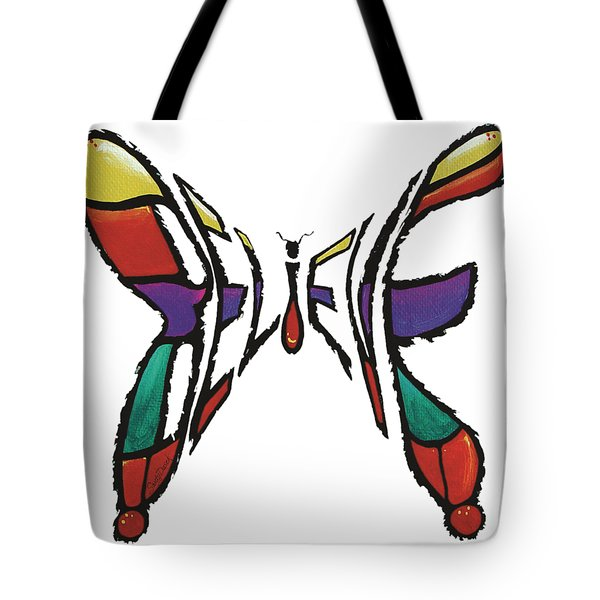 Believe-butterfly Tote Bag