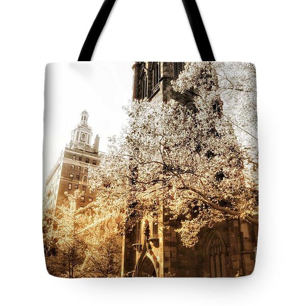Tote Bag featuring the photograph Believe by Helge