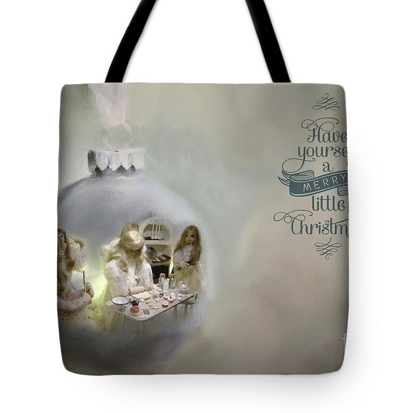 Believe In The Magic Of Christmas Tote Bag