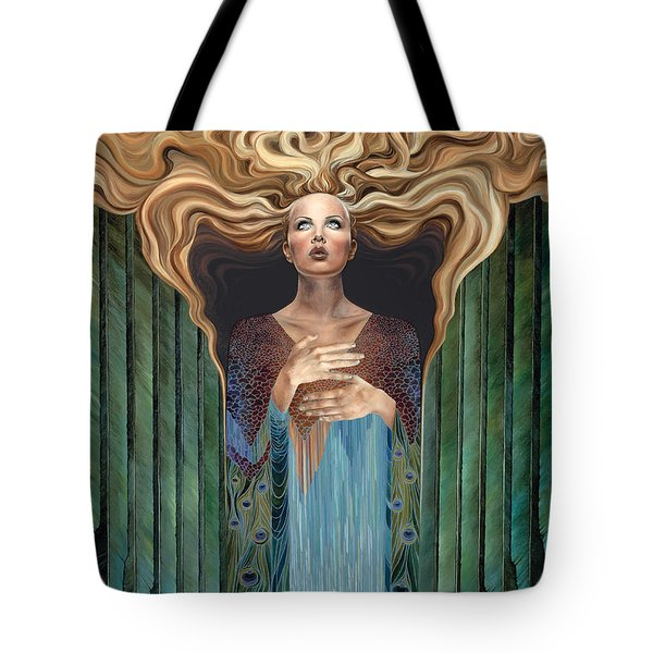 Believer Tote Bag by Ragen Mendenhall