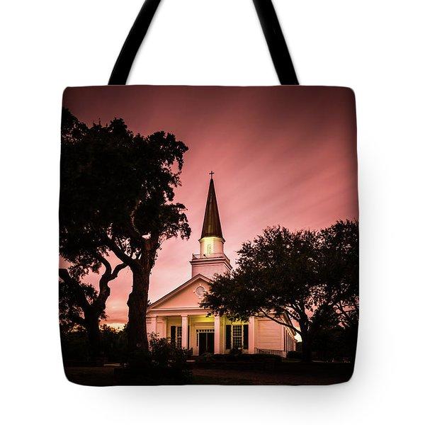 Belin Memorial Umc Sunset Tote Bag
