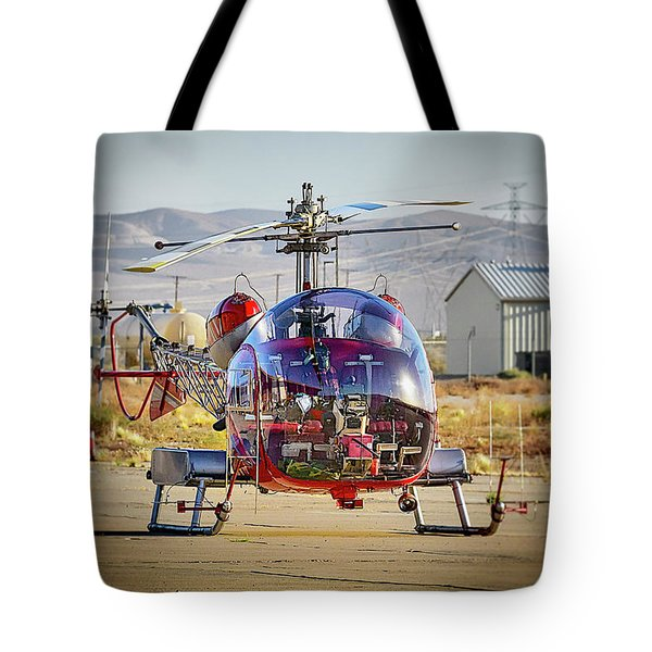 Bell 47 Tote Bag