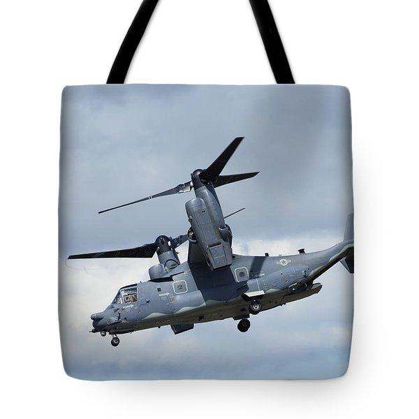 Bell/boeing Cv-22b Osprey Tote Bag