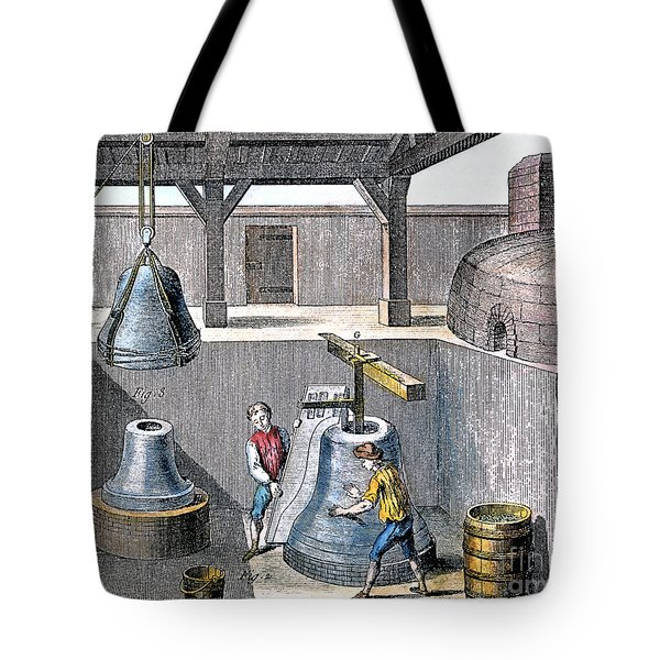 Bell Casting, 1763 Tote Bag by Granger