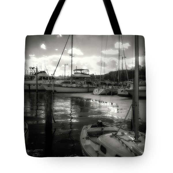 Bell Haven Docks Tote Bag