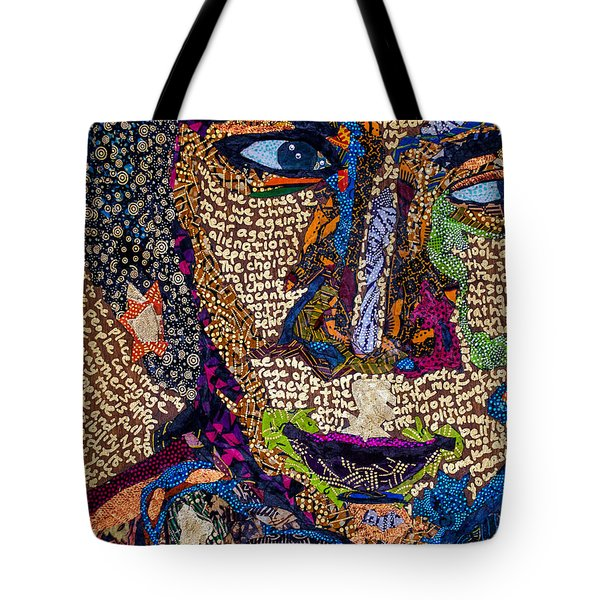 Bell Hooks Unscripted Tote Bag by Apanaki Temitayo M