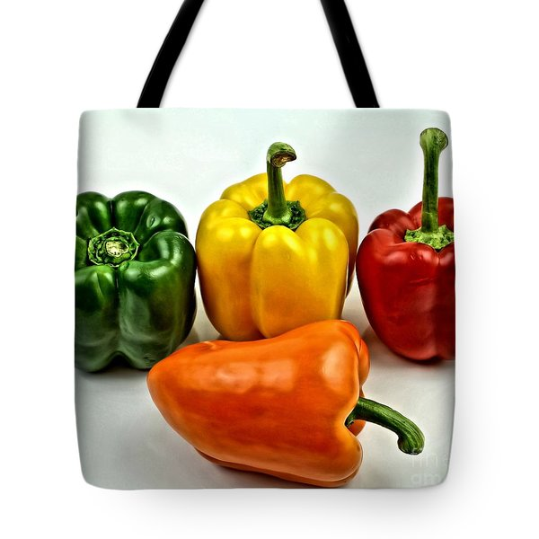 Bell Peppers 3 Tote Bag