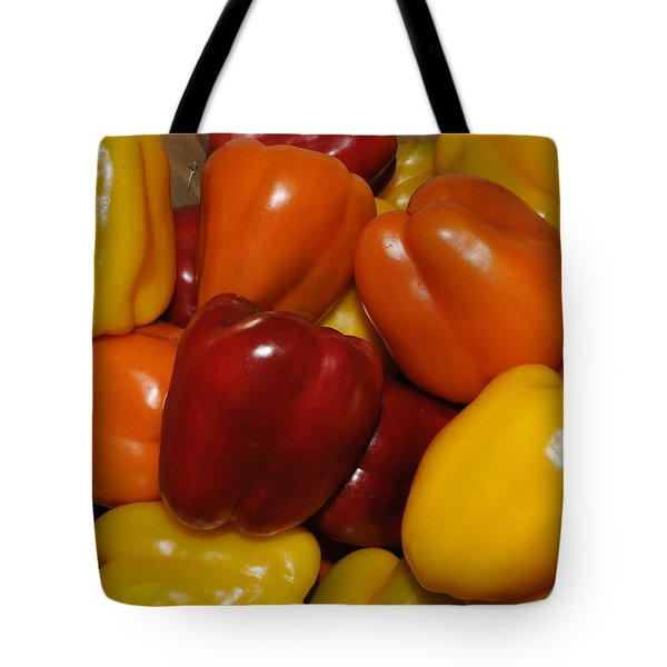 Bell Peppers Tote Bag
