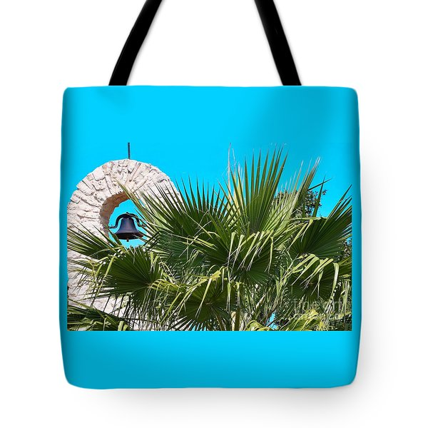 Tote Bag featuring the photograph Bell by Ray Shrewsberry