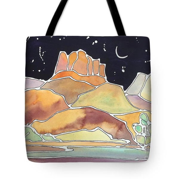 Bell Rock Tote Bag