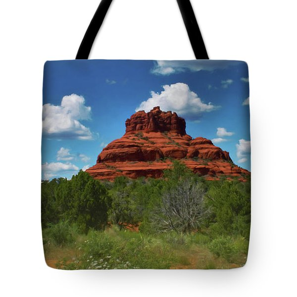 Bell Rock In Sedona Tote Bag
