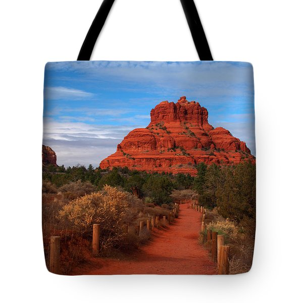 Tote Bag featuring the photograph Bell Rock by James Peterson