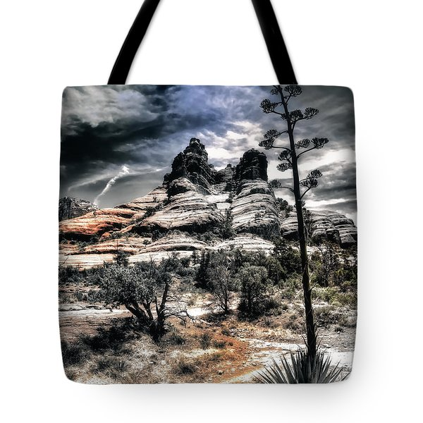Tote Bag featuring the photograph Bell Rock by Jim Hill