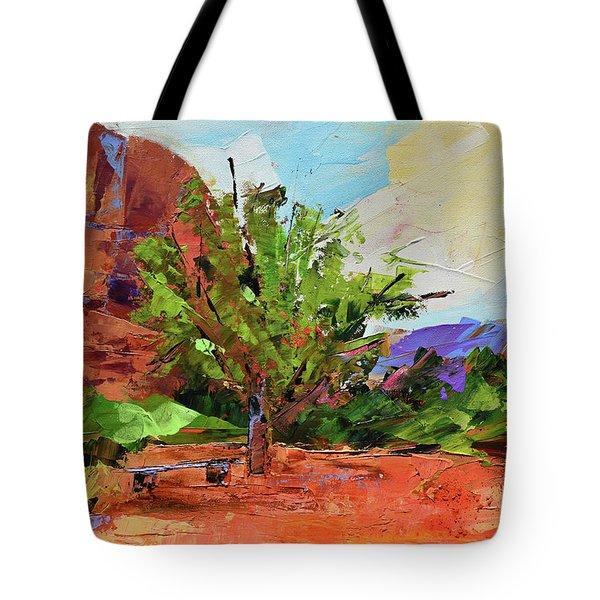 Sedona Pathway  Tote Bag