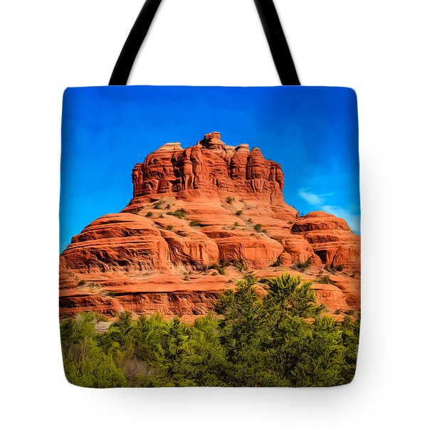 Bell Rock Tower Tote Bag