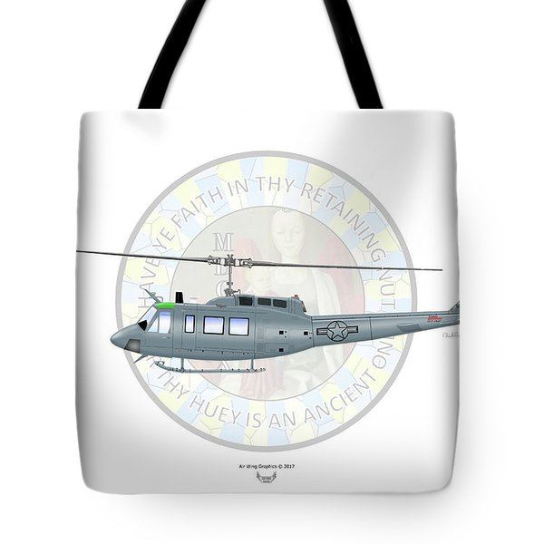 Bell Th-1h Tote Bag
