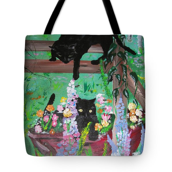 Bella And Rufus Tote Bag