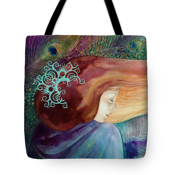 Tote Bag featuring the painting Bella Aurora by Ragen Mendenhall