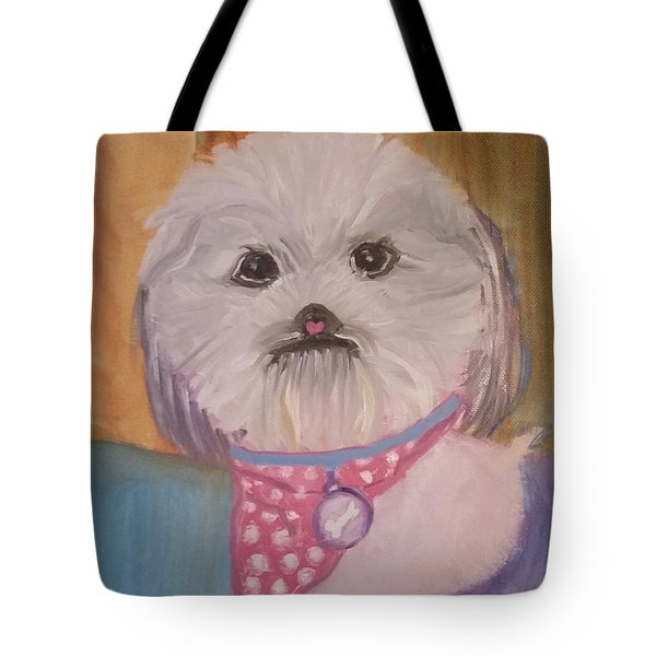 Bella Baby Tote Bag by Carol Duarte