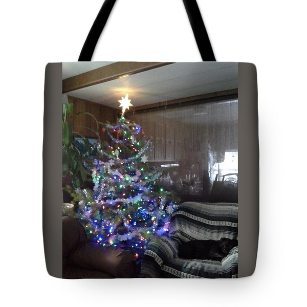 Bella Christmas 2013 Tote Bag by Jewel Hengen