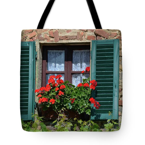Bella Italian Window  Tote Bag