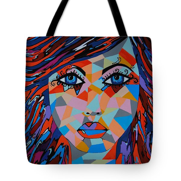 Tote Bag featuring the painting Bella by Kathleen Sartoris