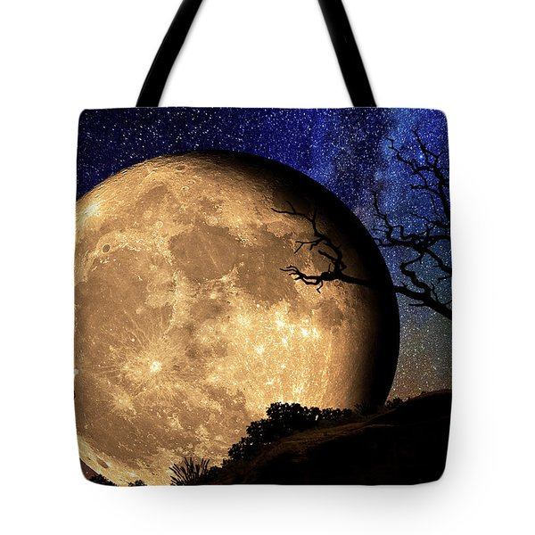 Bella Luna From Another World Tote Bag