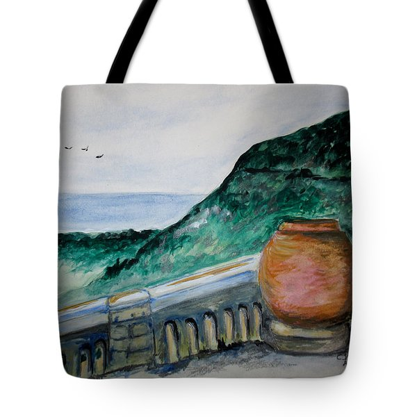 Bella Vista, Cumae Italy Tote Bag