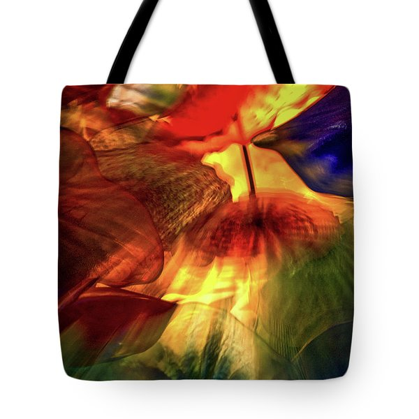 Bellagio Ceiling Sculpture Abstract Tote Bag