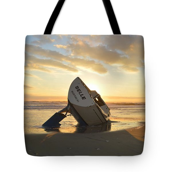 Tote Bag featuring the photograph Belle At Sunrise by Barbara Ann Bell