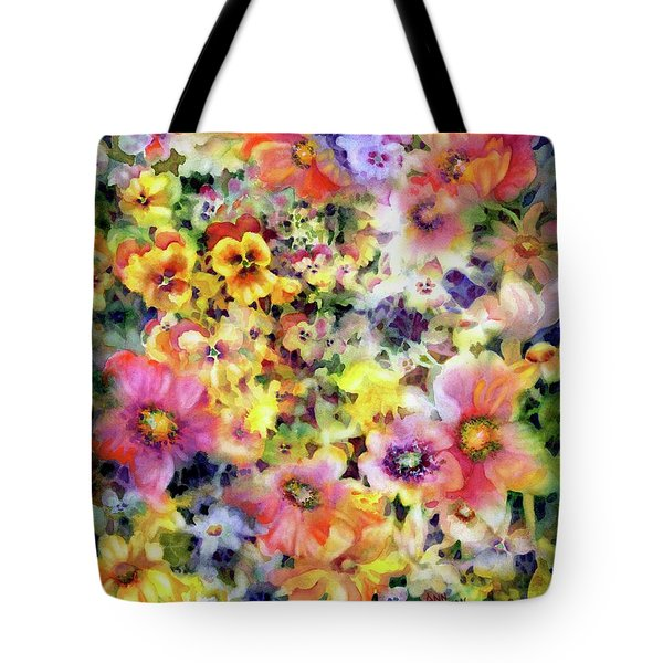 Belle Fleurs I Tote Bag