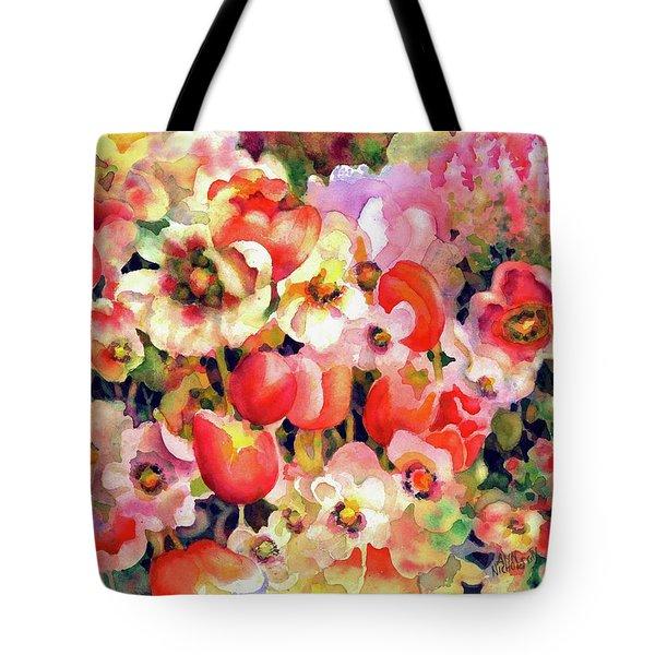 Belle Fleurs II Tote Bag