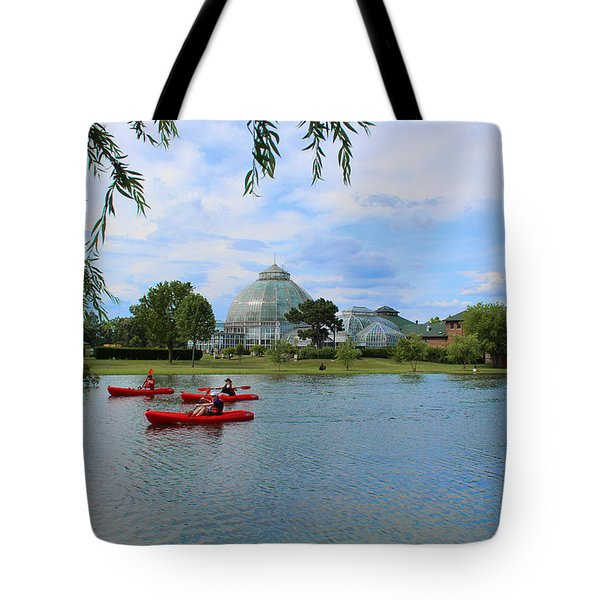 Belle Isle Conservatory Tote Bag