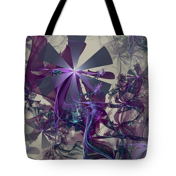 Tote Bag featuring the digital art Belle Of The Ball by Kim Redd