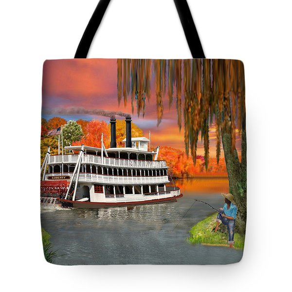 Belle Of The Bayou Tote Bag