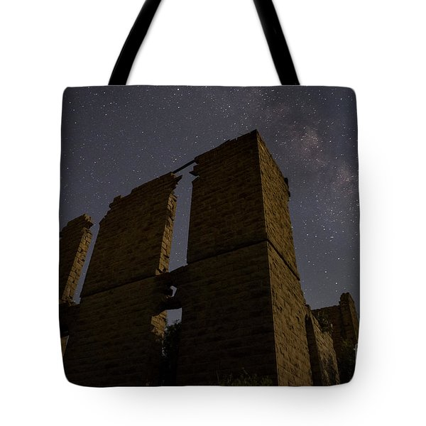 Tote Bag featuring the photograph Belle Plain College - Texas by Keith Kapple