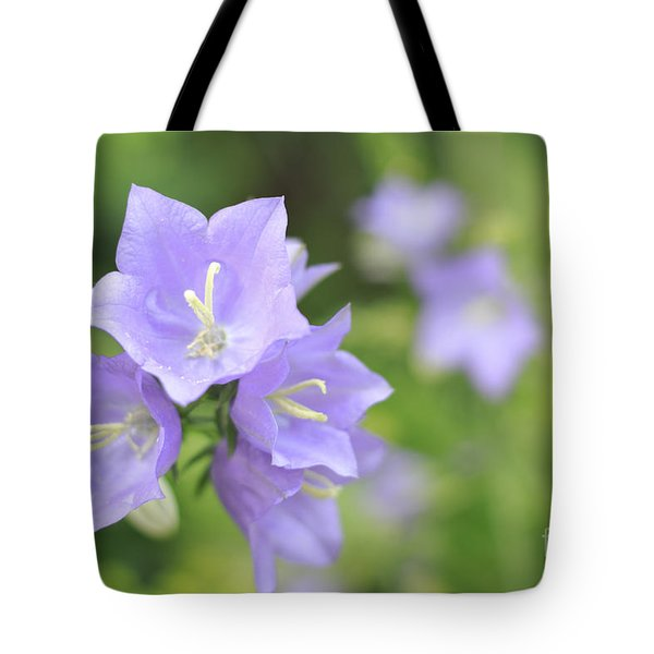 Bellflower Tote Bag by Charline Xia