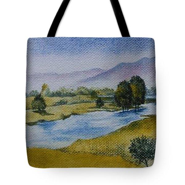 Bellinger Valley In Spring Tote Bag