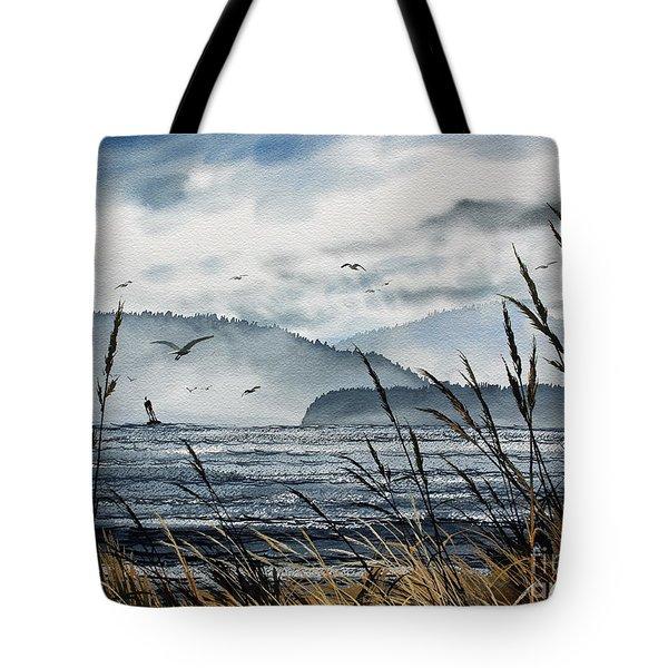 Bellingham Bay Tote Bag by James Williamson