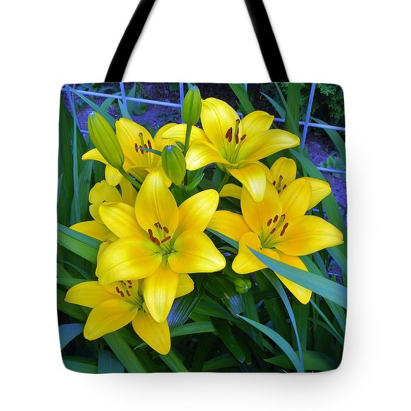 Bellingham Blooms Tote Bag