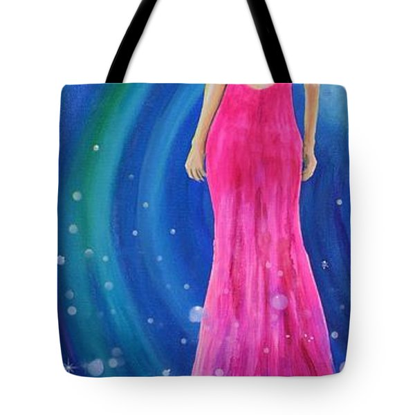 Tote Bag featuring the painting Bellissimo by Mary Scott